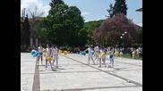 Мажоретките на Съединение в Перущица 28 04 2012