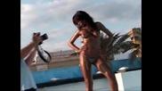 Колумбийски модел Diana Caicedo в списание Soho