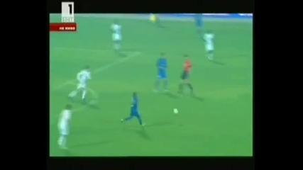 Левски - Лил 2 - 1 Гол от 30м на Влади Гаджев
