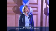 Емил Стоянов връчи наградата за проевропейска политика на г-жа Фандъкова/Emil Stoyanov, TV EVROPA