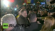 Romania: President Iohannis attends anti-govt rally as nightclub death toll hits 45