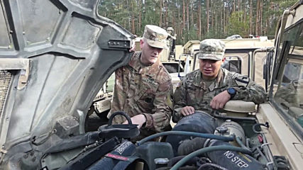 Germany: US troops make stop on journey to Poland for 'Atlantic Resolve'