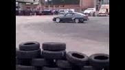 Super Drift Series - Round 1 (8.4.2012) Nissan vs Bmw