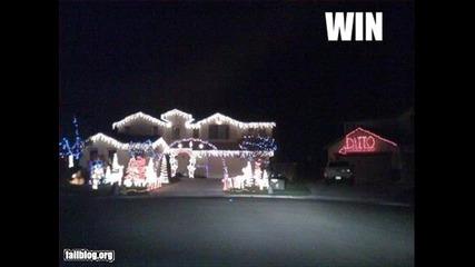 Най-смешните снимки от Коледа за 2012