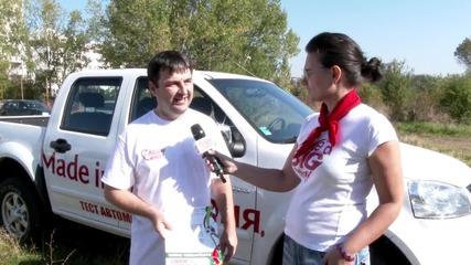 Спортувай с мисия: Трябва да се помага на хората в нужда