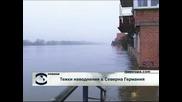 Тежки наводнения в Северна Германия