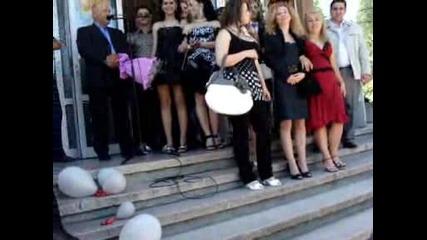 Изпращането на Випуск 2009 12 г клас Лвт Гр. Плевен (2 - ра част)