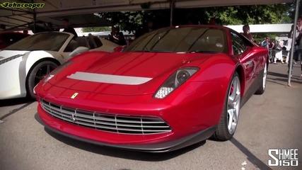 Ferrari Sp12 Ec - Goodwood 2013