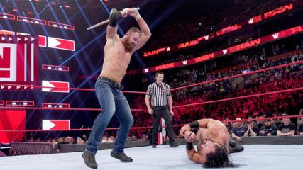 Dean Ambrose vs. Drew McIntyre - Last Man Standing Match: Raw, March 25, 2019