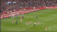 Арсенал 0 - 0 Челси (бг аудио) ( 26/04/2015 )