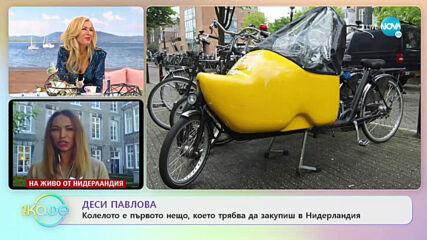 "Деси Павлова - За Нидерландия и дигиталните технологии - ""На кафе"" (21.09.2020)"