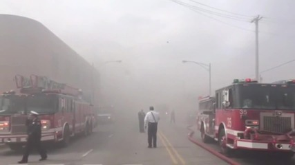 USA: Fire engulfs Chicago market, victims reported trapped inside