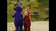 Teletubbies Are Doing The Rammstein Move.