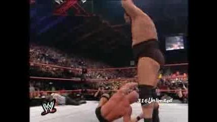 Най яката победа в историята на кеча!!! Stone Cold vs Big Show