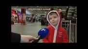 Малкият Джейми на аерогарата