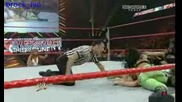 Wwe Raw 04 20 09 melina vs beth