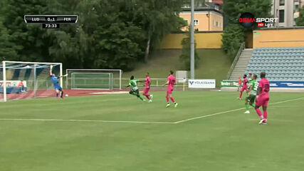 Боли порази лудогорската врата - 2:0 за Ференцварош