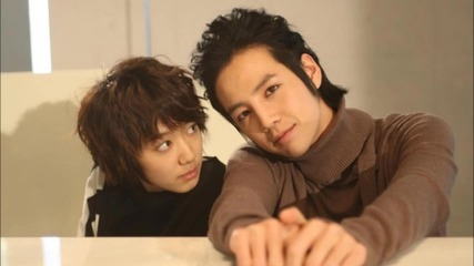 Jang Geun Suk and Park Shin Hye - Fly me to the moon [ You're Beautiful ost ]