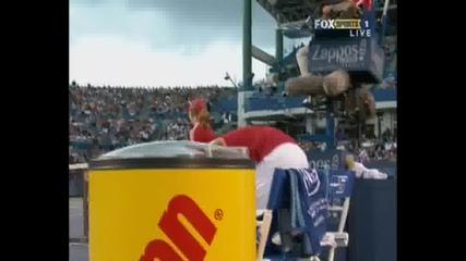 Nadal - Djokovic Cincinnati Sf.part1