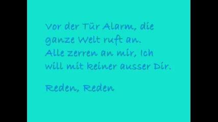 Tokio Hotel - Reden (lyrics)