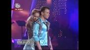 Dancing Stars - Нети и Александър Докулевски танцуват Английски валс 27.10