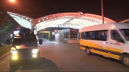 """Взрив на летище """"Сабиха Гьокчен"""" в Истанбул"""