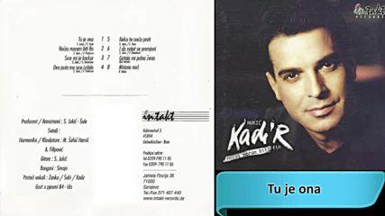 Kadir Nukic - Tu je ona (hq) (bg sub)