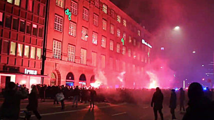 Malmo ultras storm Copenhagen with flare and fury ahead of 'Bridge Derby'