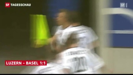 Xherdan Shaqiri - Seitfallzieher gegen Luzern
