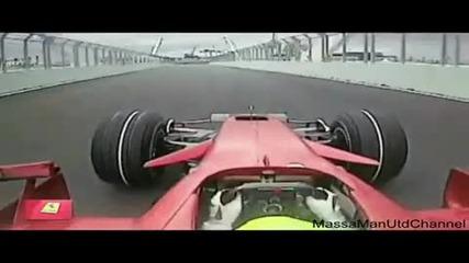 F1 Felipe Massa Onboard Pole Position Lap at Europe