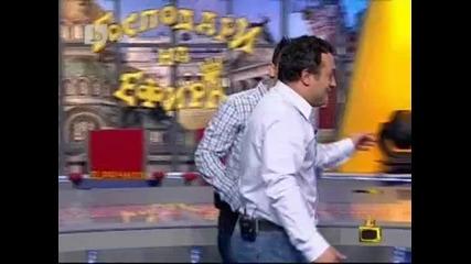 Рачков се пребива в ефир - Голям Смях!