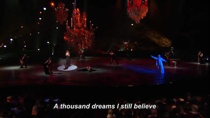 *превод* Селин Дион - Отдавам се - на живо - I surrender - Celine Dion