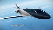 Бъдещето на самолетостроенето .. Technicon France Ixion Windowless Jet Concept