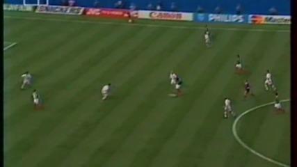 Футбол Мексико - България 1994 - Първо полувреме - Част 4/5 (високо качество)