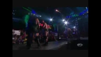 Tna Impcat 29.03.2010 Jeff Hardy and Eric Young and Rvd vs The Band