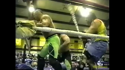 The Eliminators (john Kronus & Perry Saturn) (c) vs. Buh Buh Ray Dudley & Hack Myers - Ecw