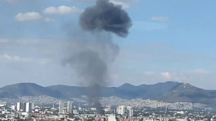 Mexico: 2,000 evacuated as Mexico City factory spectacularly explodes