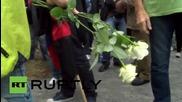 Germany: Nationalists march through Heidenau