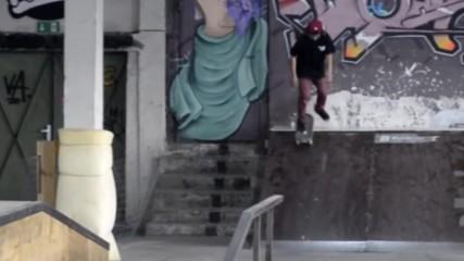 Marty Atanasov 5 Тricks at Five High skatepark