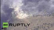 Syria: Russian Su-34 targets explosives plant in Aleppo