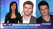 Josh Hutcherson & Liam Hemsworth Cast In The Hunger Games