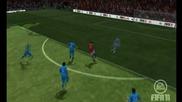 Fifa 11 Online - Страхотен финт и гол на Бербатов