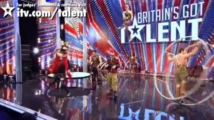 Циркът На Ужаса - Britain's Got Talent 2011