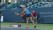 Caroline Garcia vs Elina Svitolina Cincinnati 2015 Set-1