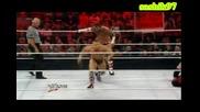 Си Ем Пънк срещу Кейн срещу Даниел Браян [ Raw Super Show 25.06.2012 ] - Тройна заплаха.