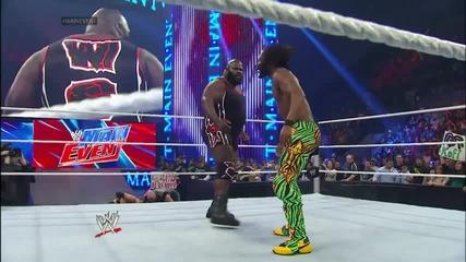 Кофи Кингстън срещу Къртис Аксел / Майн Евент 19.02.2014г.