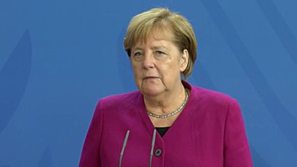 Germany: Merkel hails bilateral 'unity' alongside Norway's Solberg
