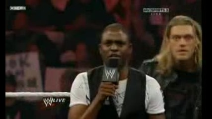 Wwe Raw.. 03.05.2010.. The Cutting Edge .. Edge, Orton & Wayne Brady.. Segment.. 2/2