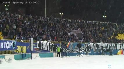 Сектор Б срещу Спортинг 16.12.2010 (sector B at Levski - Sporting) Hd
