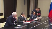 Russia: Putin chairs Security Council meeting in Novo-Ogaryovo